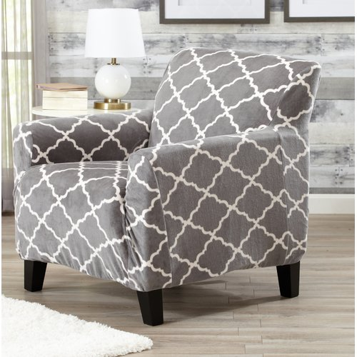 Alcott Hill T-Cushion Armchair Slipcover
