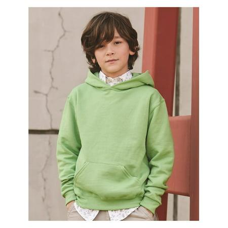 Fleece NuBlend Youth Hooded Sweatshirt