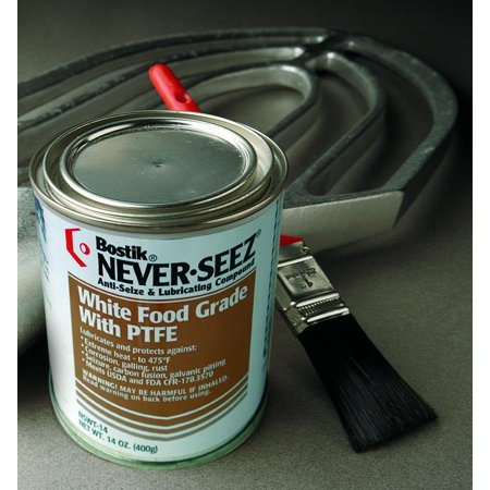 Never-Seez - 30803822 - 14oz White Food Grade W/ptfe Lubricant