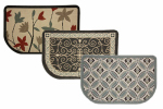 "23-1 2"" x 40"" Hearth Rug Assorted Colors & Patterns 3 Patterns by"