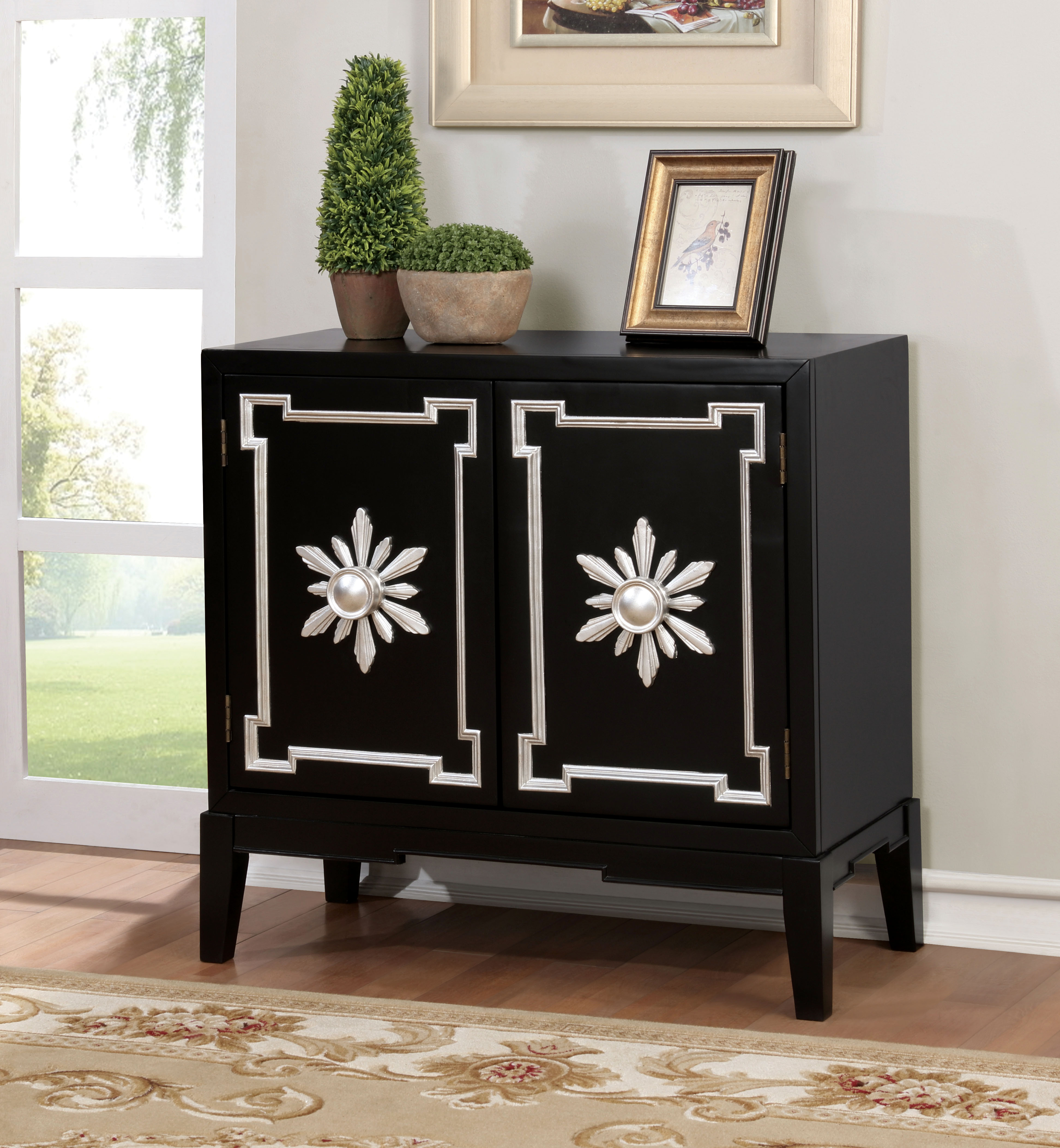 Furniture of America Suny Vintage Hallway Chest, Multiple Colors