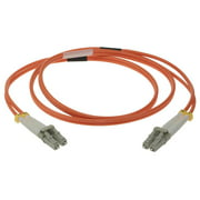 SF Cable LC-LC Duplex Multimode 62.5/125 Fiber Optic Cable, 2 meter