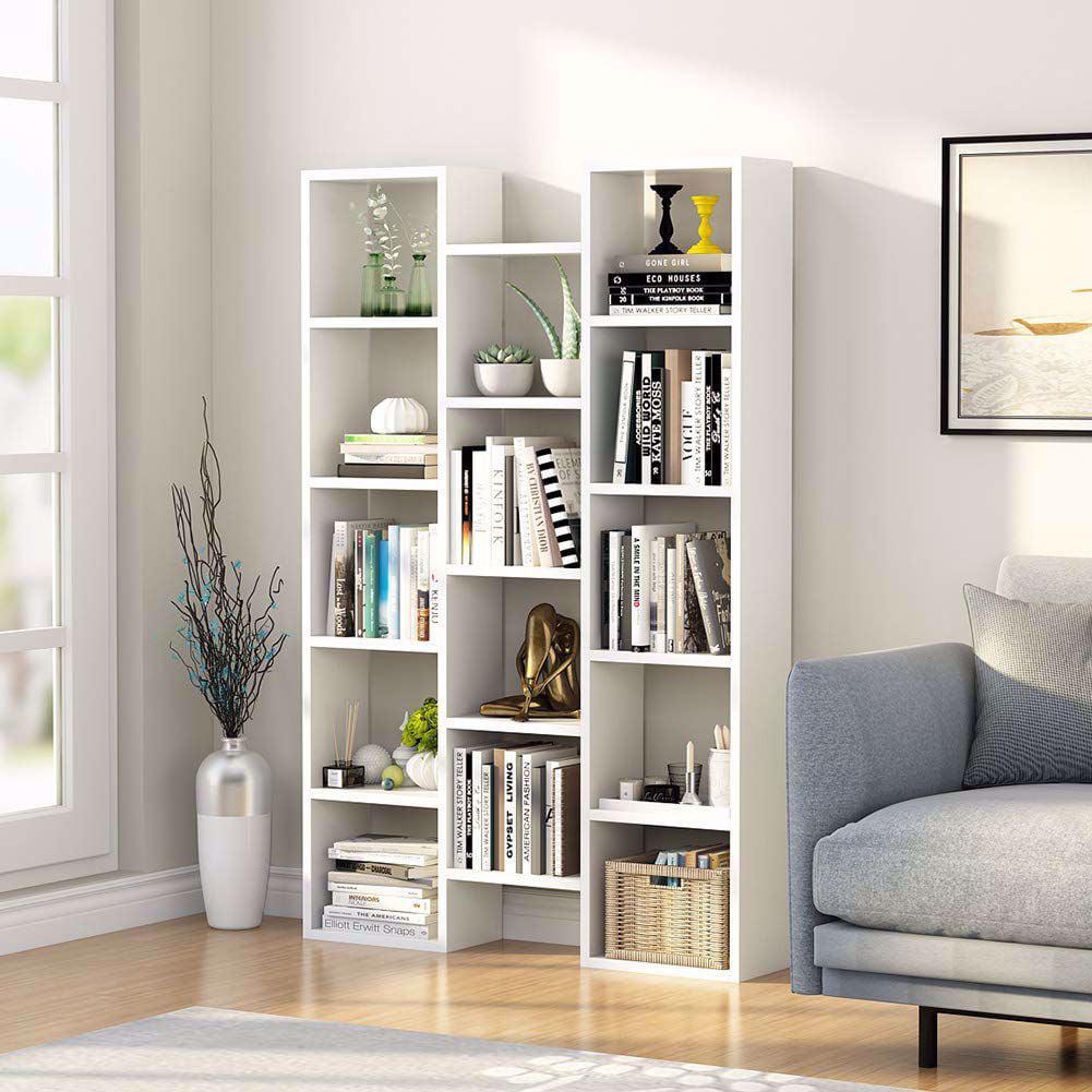 tribesigns modern bookcase 5shelf storage organizer
