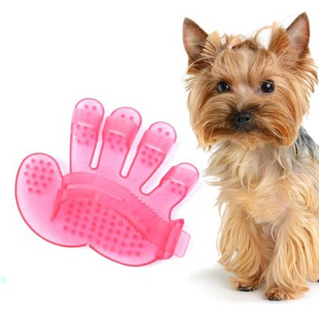 Hand Palm Shape Pet Dog Cat Grooming Bath Massage Rakes Brush Comb, Pet bathing Cleaning tool
