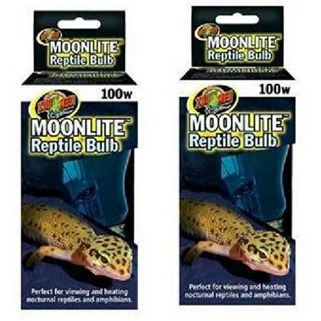 2 Pack Moonlite Reptile Bulbs 100 Watts Each 2 Pack