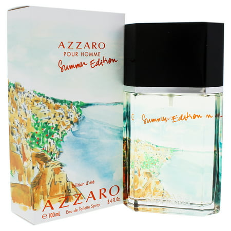 Azzaro Pour Homme by Azzaro for Men - 3.4 oz EDT Spray (Summer Edition)