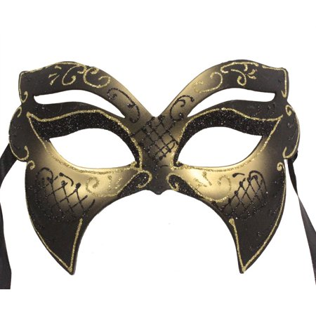 FANCY MASQUERADE MASK - Venetian Masks - BAT COSTUME](Masquerade Mask Costume)