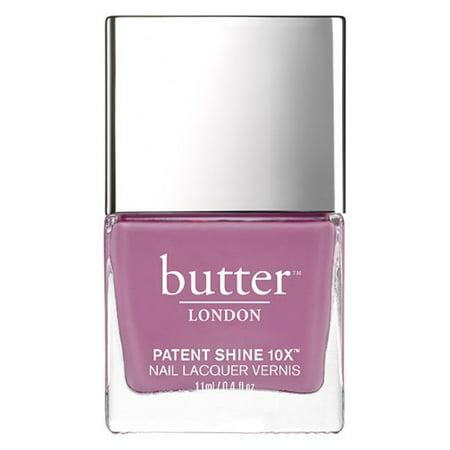 Butter London Patent Shine 10X Nail Lacquer, Fancy, 0.4 Fl