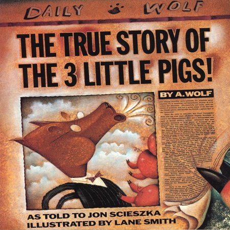 True Story Of The 3 Little Pigs, The - Audiobook