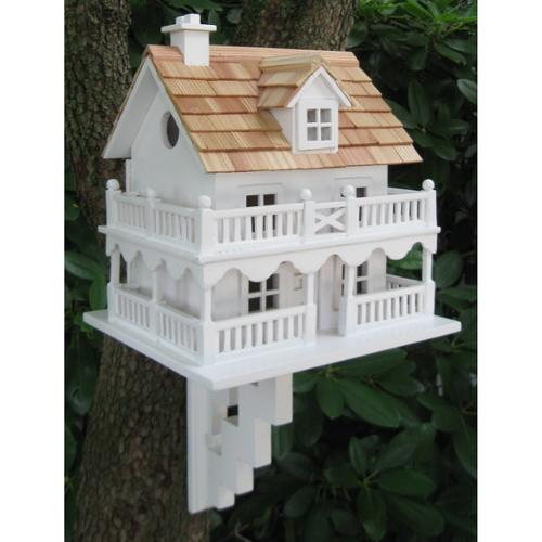 Home Bazaar Novelty Cottage Birdhouse With Bracket by Bird Houses