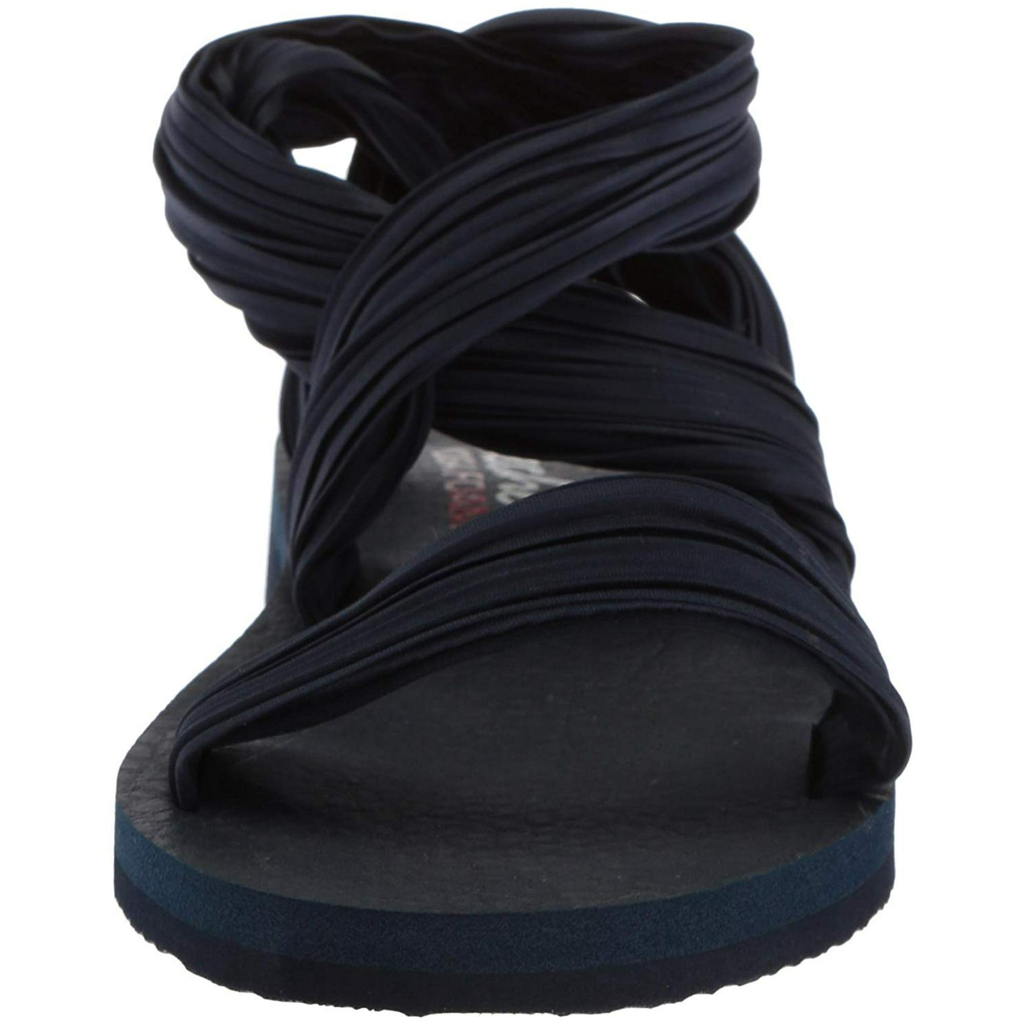 b3292919148c Skechers Womens Meditation Still Sky Open Toe Casual Strappy ...
