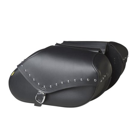 Dowco SB1906 Revolution Series Throw Over Style Saddlebags - Studded