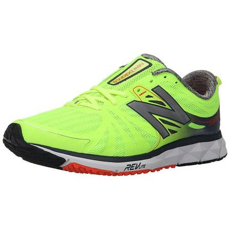 ... new balance men's m1500v2 running shoe, green/grey, ...