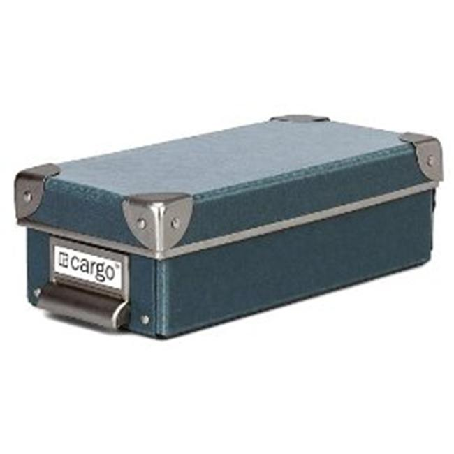 Resource International 8621325 Cargo Naturals Pencil Box- Bluestone