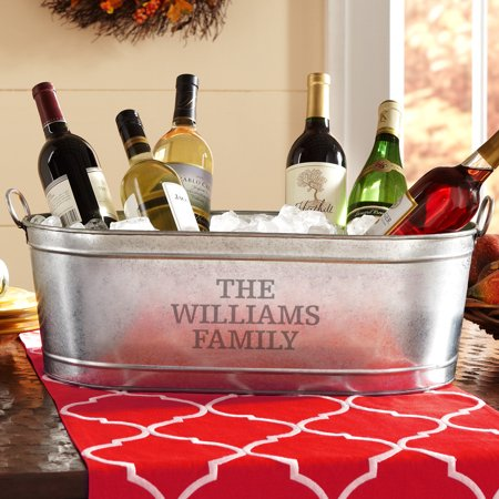 Personalized Any Message Beverage Tub or Tub with Stand Tennessee Beverage Tub