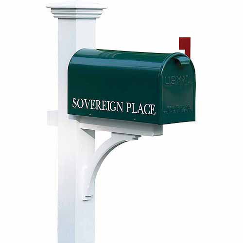 Lazy Hill Farm Designs Sovereign Mailbox Post by Good Directions