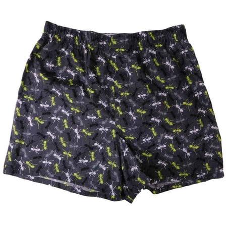Mens Gray Halloween Ants Slim-Fit Boxer Shorts
