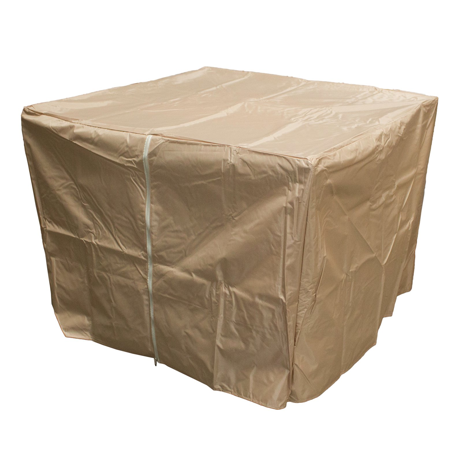 Hiland Heavy-Duty Firepit Cover, Camel