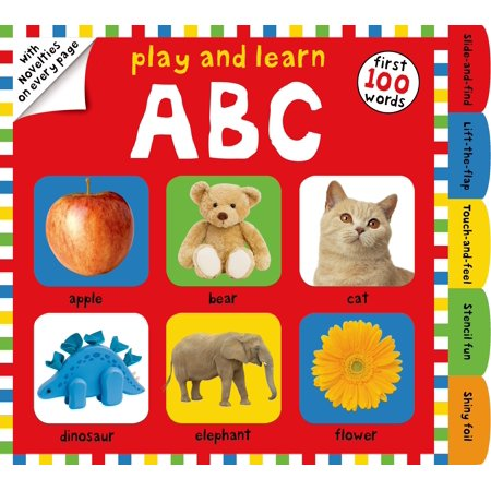 Play and Learn ABC : First 100 Words, with Novelties on Every Page (Cute Halloween Play On Words)