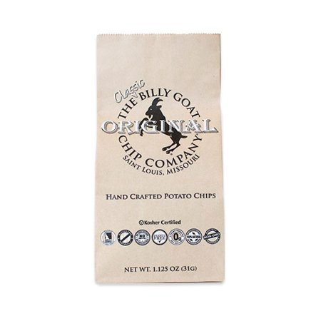 The Billy Goat Chip Company Original Potato Chips Snack Bag (1.125 ounce)
