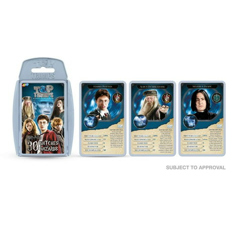Harry Potter Witches and Wizards Top Trumps Playing Card