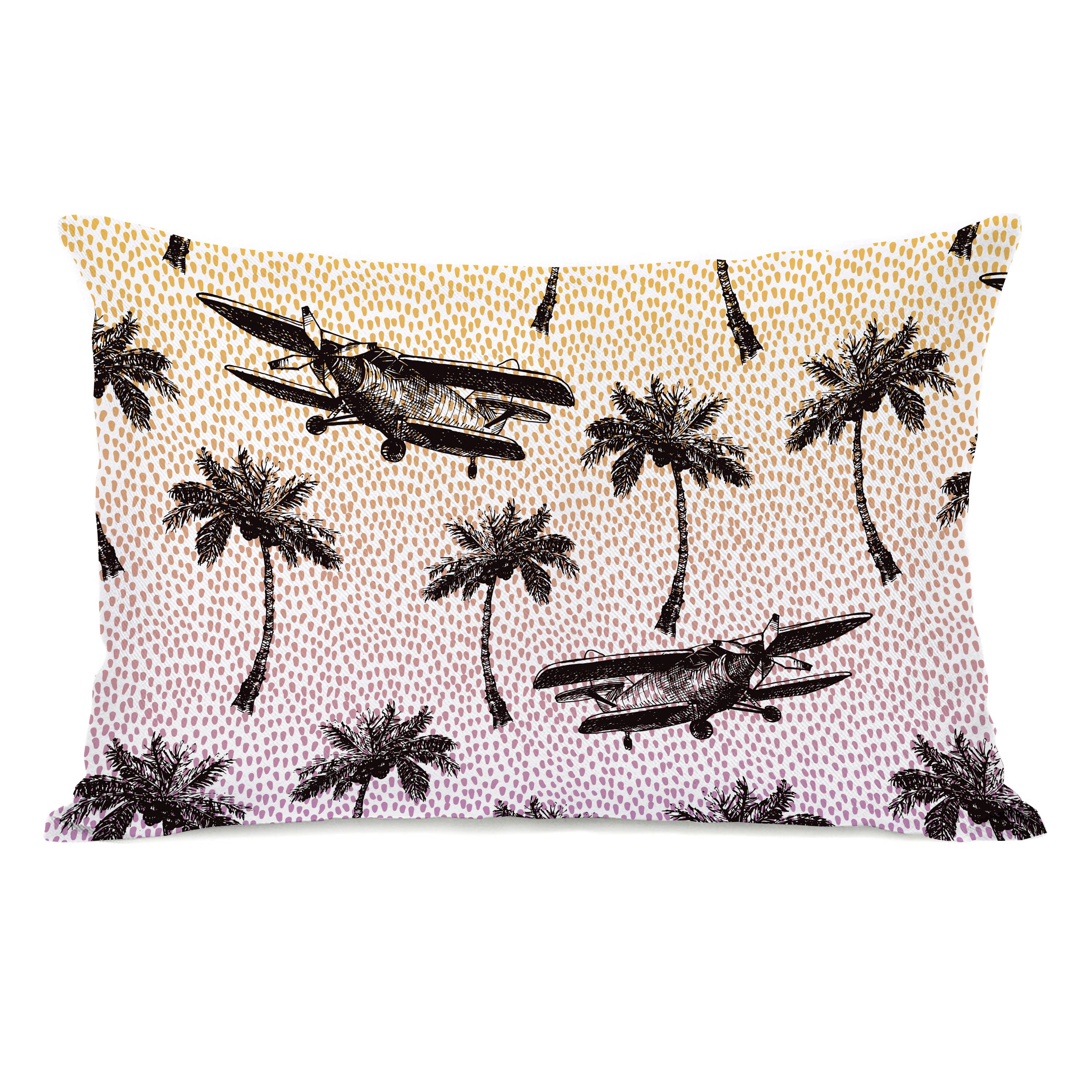 Coastal Flight - Pink 14x20 Pillow by OBC
