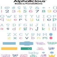 cricut 29-0287 alphalicious font cartridge
