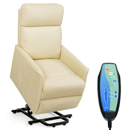 Electric Power Lift Massage Sofa Recliner Vibrating Chair
