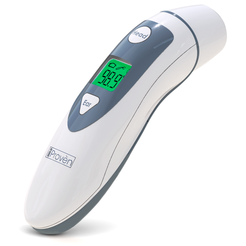 Medical Ear Thermometer with Forehead Function - iProven DMT-489 - Upgraded Infrared Lens Technology for Better Accuracy