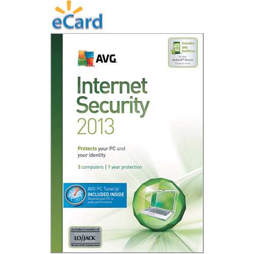 AVG Internet Security + PC TuneUp 2013 3-User 2-Year  $89.99 (Email Delivery)