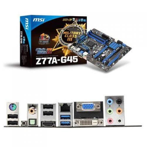 MSI Z77A-G45 Desktop Motherboard
