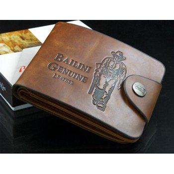 Bailini Genuine Men's Leather Credit/ID Cards Wallet