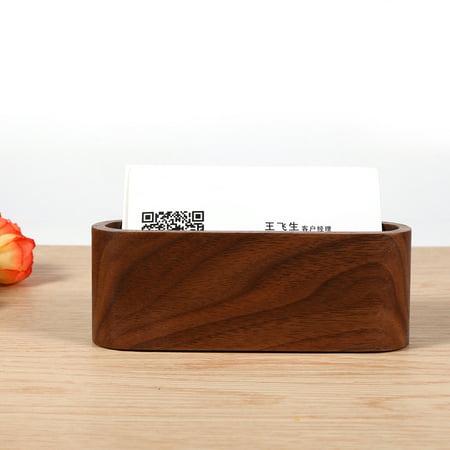 Lv life 1pc creative wooden business card holder case storage box lv life 1pc creative wooden business card holder case storage box organizer office desktop ornaments colourmoves