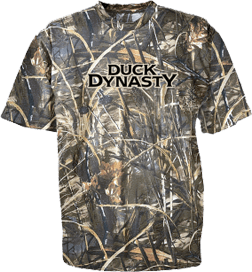 Club Red Duck Dynasty Logo Short Sleeve T-Shirt Camo & Ma...