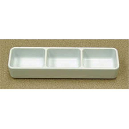 Server Case Pack (Gessner Products IW-0623-WH 3-Compartment Server - 4.5 oz. - total- Case of)