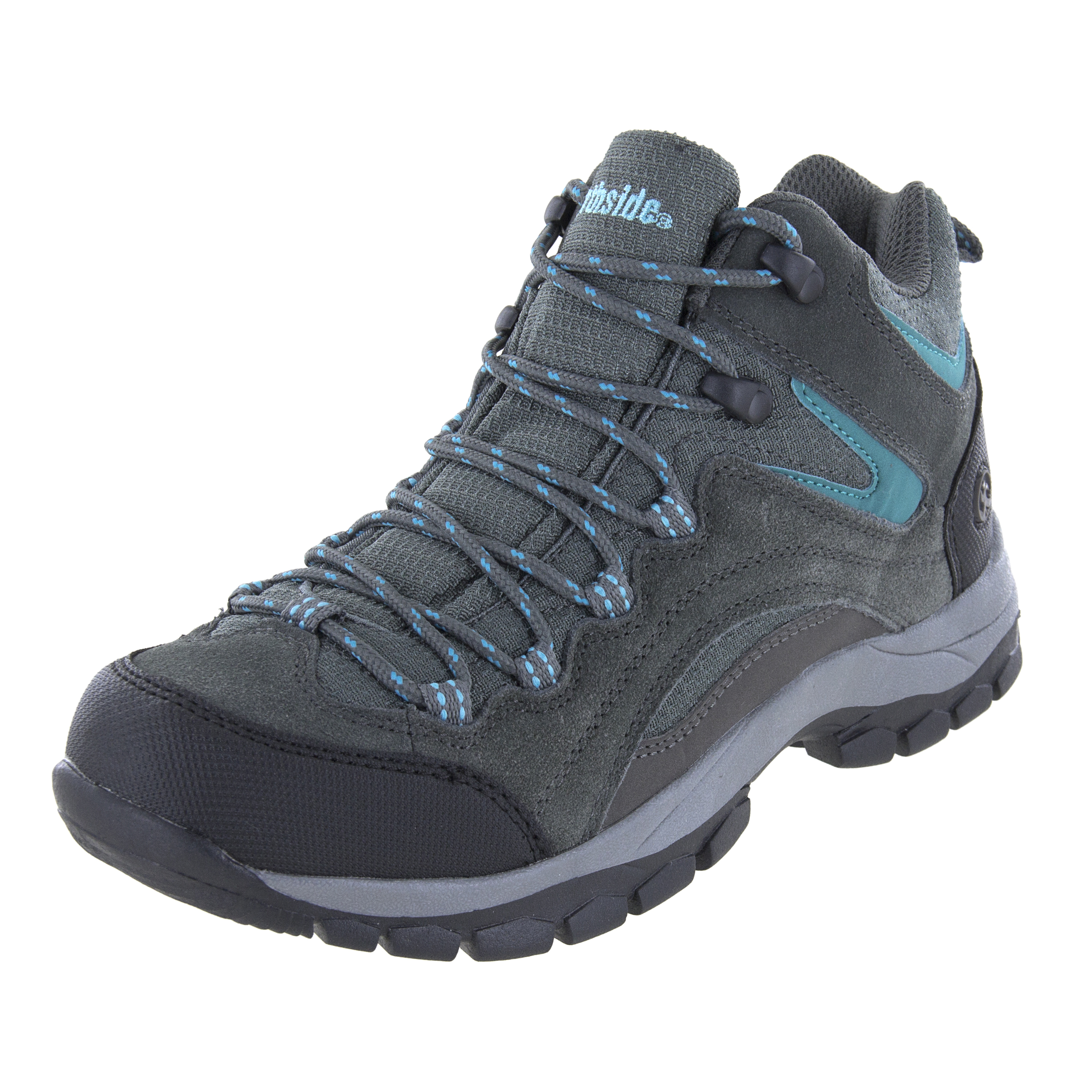 Northside Womens Pioneer Mid Rise Leather Hiking Boot by Triple T Trading