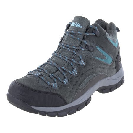 Northside Womens Pioneer Mid Rise Leather Hiking