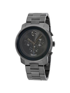 Movado Bold Stainless Steel Chronograph Mens Watch 3600277