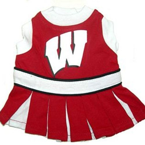 Mirage 301-36 CH-SM Wisconsin Badgers Dog Cheer Leading SM