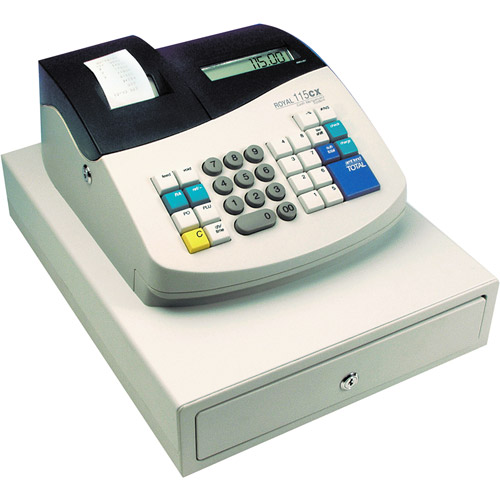 Royal 14508P Portable Battery-Operated Cash Register