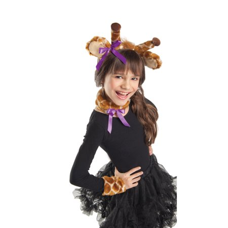 Girls Giraffe Costume Kit by Party King KIT57C