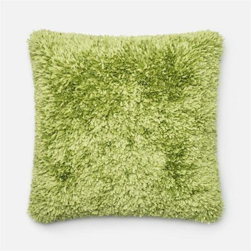 Loloi Rugs  P0045 Lime  Pillows  Home Decor  ;22 X 22 with Polyester Insert