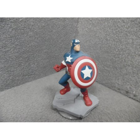Disney Infinity 2.0 Marvel Captain America Figure, Officially licensed merchandise By Official