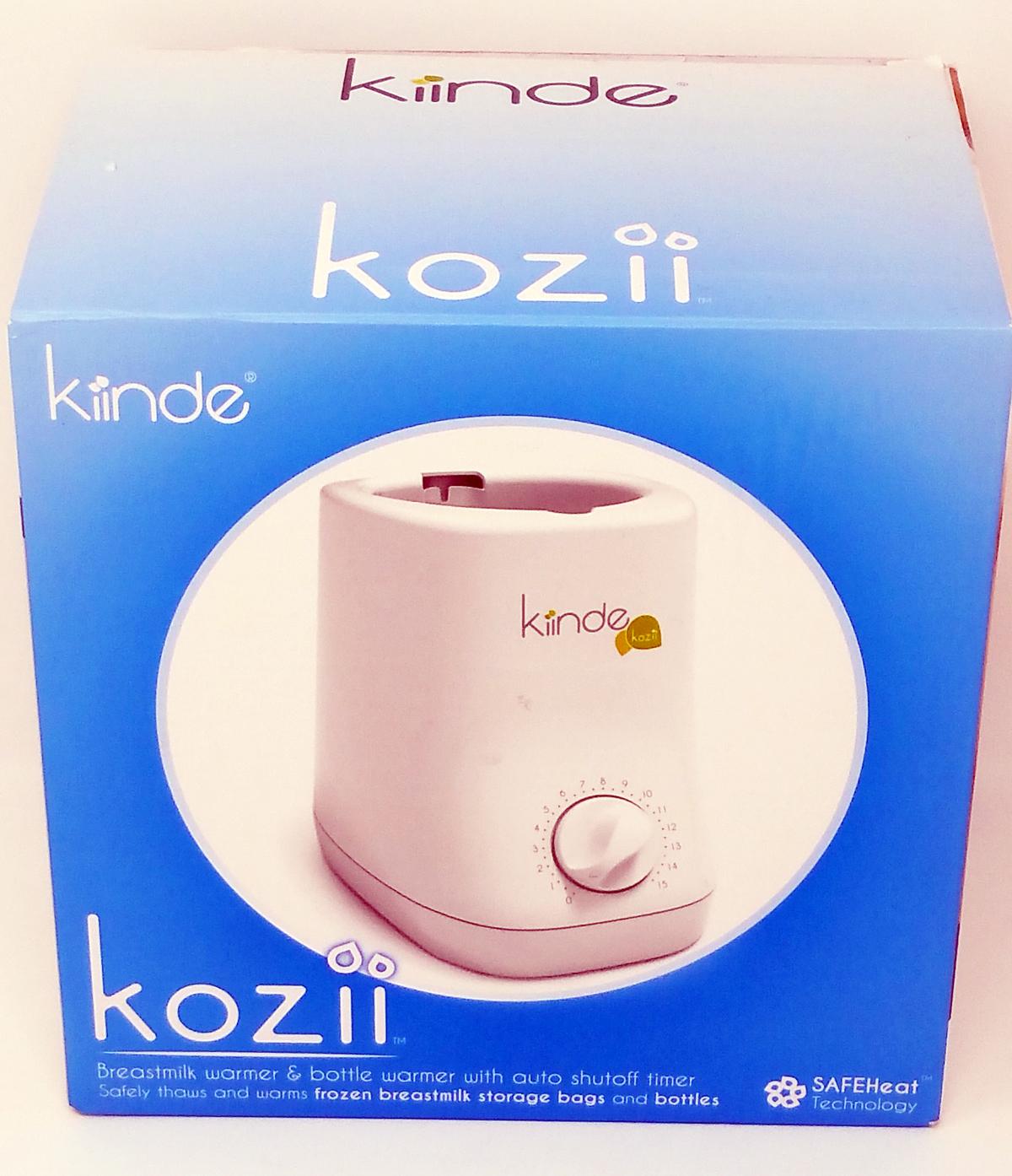 Kiinde Kozii Bottle Warmer and Breast Milk Warmer (Open Box) by Kiinde