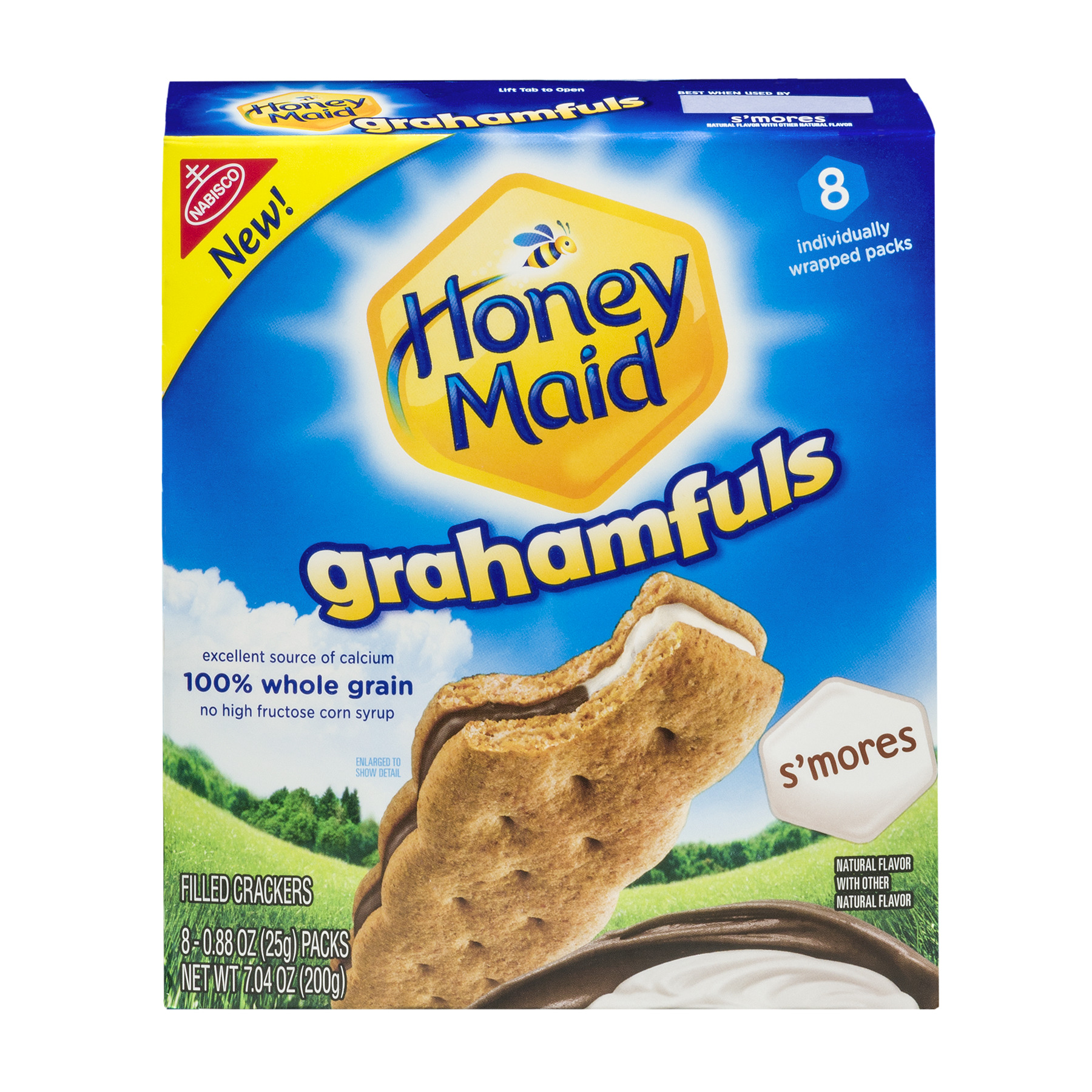 Nabisco Honey Maid Grahamfuls S'mores Filled Crackers - 8 CT0.88 OZ