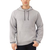 Deals on Fruit of the Loom Mens EverSoft Fleece Pullover Hoodie Sweatshirt