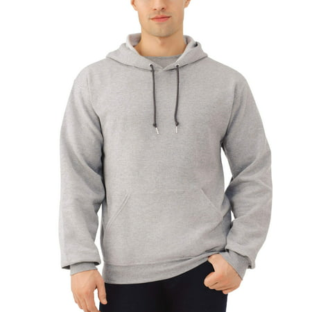 Campus Hooded Sweatshirt - Fruit of the Loom Men's Dual Defense EverSoft Pullover Hooded Sweatshirt