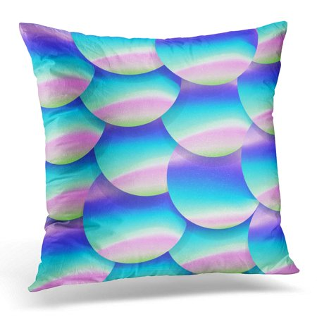 Purple Lilac Pictures - ECCOT 80S Holographic Big Sequined Pink Purple and Violet Lilac Glistening Sequins Beaded Pillowcase Pillow Cover Cushion Case 18x18 inch