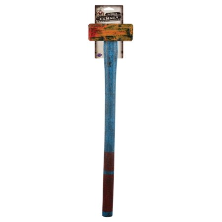Costume Sledge Hammer Prop Killer Clown Realistic Painted Halloween Scary Fake - Not So Scary Halloween Disneyland