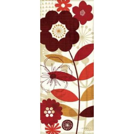 Floral Pop Panel I Poster Print By Michael Mullan